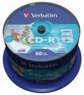 CD-R Verbatim 700MB/52x 50-pack Printable