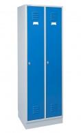 Šatní skříň OFFICE PRO dvojdílná modrá