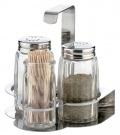 Dochucovací sada sůl, pepř, párátka