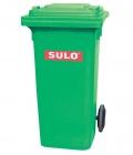 POPELNICE plastová 120L zelená