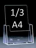 Jednokapsový stojánek 1/3 A4 C104
