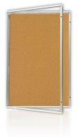 Vitrína korková 120x180cm