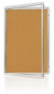 Vitrína korková 90x120cm
