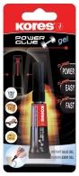 Vteřinové lepidlo Kores Power Glue 3g