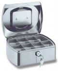 Pokladnička Conmetron 205x160x85mm stříbrná