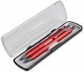 Sada AMBITION kuličková tužka a mikrotužka 0,5mm červená
