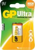 Alkalická baterie GP Ultra 9V