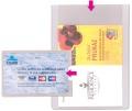 Obal na doklady z PVC na karty 90x60mm