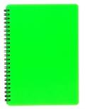 Blok BOBO plastik neon A5 60 listů linkovaný zelený