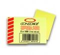Bloček CONCORDE 40x50 mm 2x100 listů žlutý