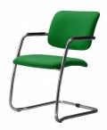 Konferenční židle 2180/S MAGIX B3 zelená