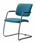Konferenční židle 2180/S MAGIX B13 sv.modrá
