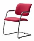 Konferenční židle 2180/S MAGIX B300 červená