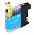 Kompatibilní inkoust Brother LC125XLC modrý