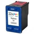Kompatibilní inkoust HP C9352CE no.22XL barevný