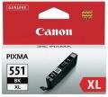 Originální inkoust Canon CLI551BK XL černý