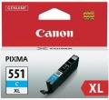 Originální inkoust Canon CLI551C XL modrý