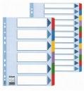 Kartonový rozlišovač MylaR A4 bílý 6 listů