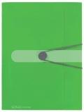 Deska s gumou Easy Orga A4 zelená
