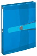 Box Easy Orga z PP A4 transparentní modrá