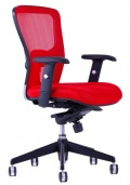 Kancelářská židle DIKE DK 13 červená