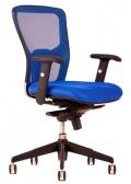 Kancelářská židle DIKE DK 90 modrá