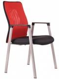 Jednací židle CALYPSO MT 13A11 červená