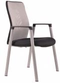 Jednací židle CALYPSO MT 12A11 sv.šedá