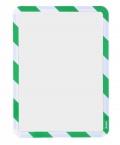 Kapsa samolepicí bezpečnostní signální A4 zeleno-bílá