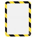 Kapsa samolepicí bezpečnostní signální A4 žluto-černá