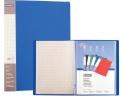 Katalogová kniha Donau PP A4 20 kapes modrá
