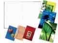 Záznamní kniha šitá A5 100 listů čtverečkovaná