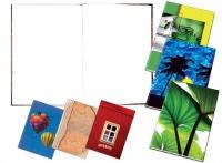 Záznamní kniha šitá A5 100 listů čistá
