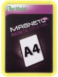 Kapsa s rámečkem TARIFOLD Magneto Solo A4 žlutá
