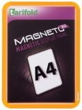 Kapsa s rámečkem TARIFOLD Magneto Solo A4 oranžová