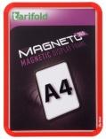 Kapsa s rámečkem TARIFOLD Magneto Solo A4 červená