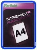 Kapsa s rámečkem TARIFOLD Magneto Solo A4 modrá