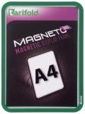 Kapsa s rámečkem TARIFOLD Magneto Solo A4 zelená