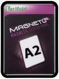 Kapsa s rámečkem TARIFOLD Magneto Solo A2 černá