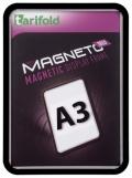 Kapsa s rámečkem TARIFOLD Magneto Solo A3 černá