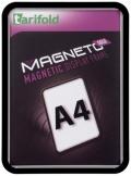 Kapsa s rámečkem TARIFOLD Magneto Solo A4 černá
