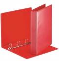 Katalogový vazač D20 4-kroužkový A4 35mm červený