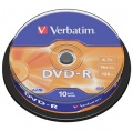 DVD-R Verbatim 4,7GB/16x 10-pack