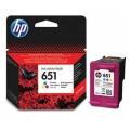 Originální inkoust HP C2P11AE no.651 barevný