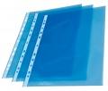 """Prospektový obal ,,U"""" barevný A4 modré okraje transparentní"""