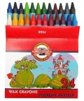 Školní voskové pastely 24ks