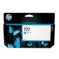 Originální inkoust HP B3P19A no.727 modrý