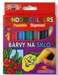 Barvy na sklo 10ml 7 barev