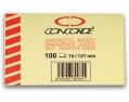 Bloček CONCORDE 127x127 mm 100 listů žlutý