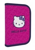 Penál 1patrový s chlopní Hello Kitty naplněný